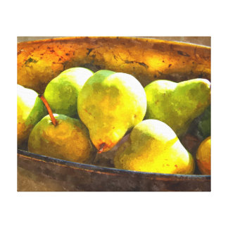 Pears in Sunlight Canvas Print