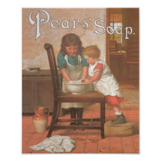 Pears Soap 2 Kids Poster