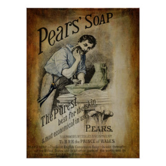 Pears Soap Advertisement 2 Poster