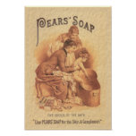 Pears Soap Bathing the Child