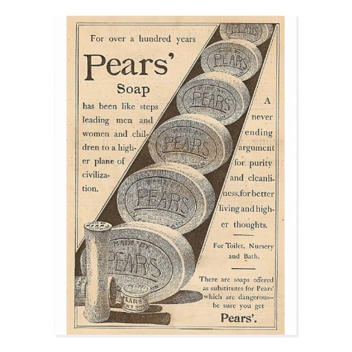 Pears' Soap Postcard