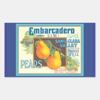 Pears Vintage Scenic Kitchen Label Art Sticker