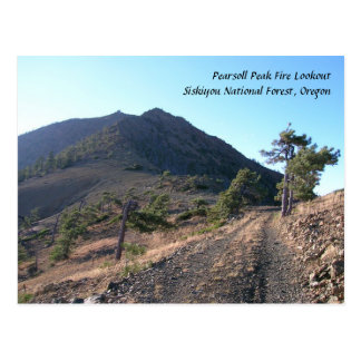 Pearsoll Peak Fire Lookout Postcard