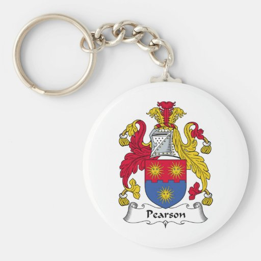 Pearson Family Crest Keychains