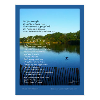 Pearson s Disease - Chris Pearson Post Cards