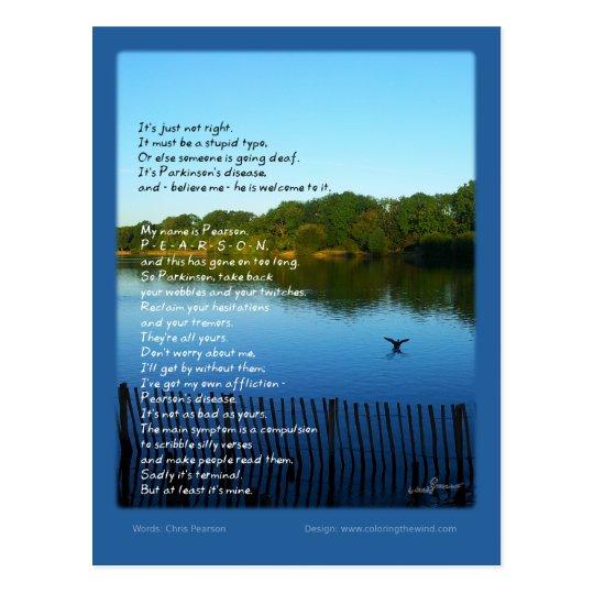 Pearson's Disease - Chris Pearson Postcard