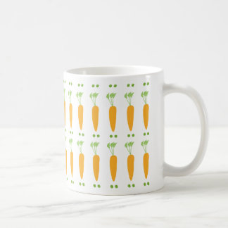 Peas and Carrots Basic White Mug
