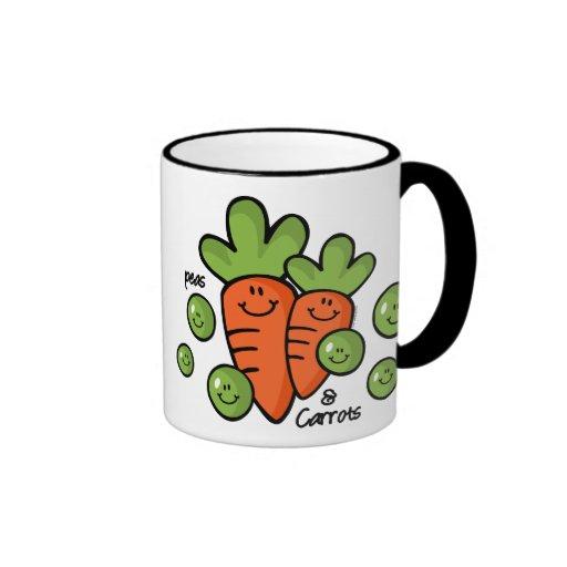 Peas And Carrots Coffee Mug