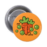 Peas And Carrots Pin