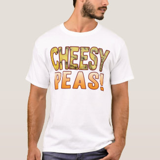 Peas Blue Cheesy T-Shirt