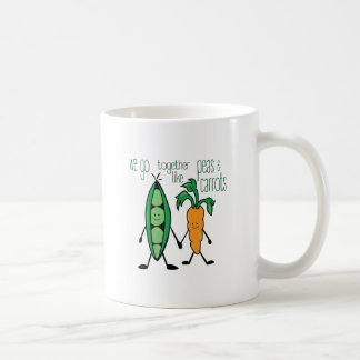 Peas & Carrots Coffee Mug