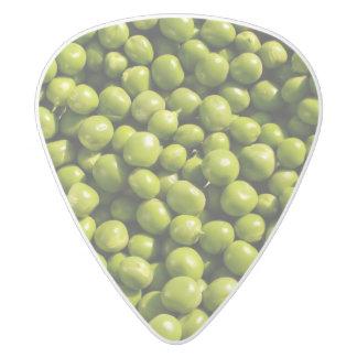 peas white delrin guitar pick