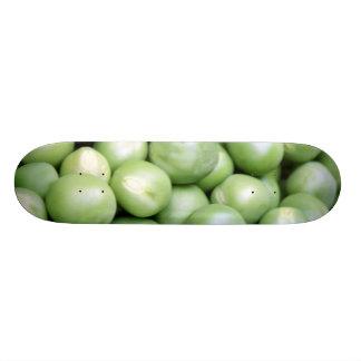 Peas in a pile custom skateboard
