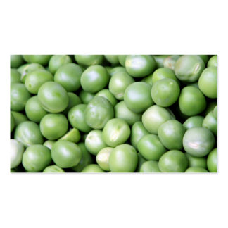 Peas in a pile pack of standard business cards