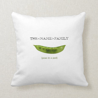 """Peas in a Pod"" Personalized Pillow for Mom"
