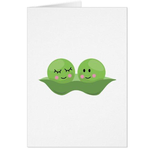 Peas In Pod Card