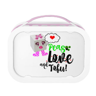 Peas Love and Tofu Lunch Box