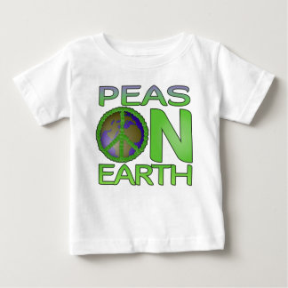 Peas on Earth Baby T-Shirt