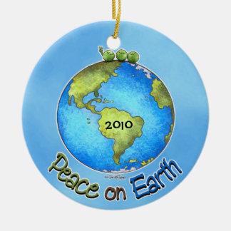 Peas On Earth Christmas Ornament