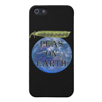 Peas on Earth iPhone 5/5S Cases