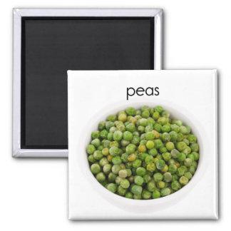 Peas Refrigerator Magnet