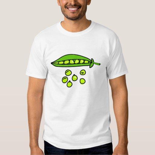peas tshirts