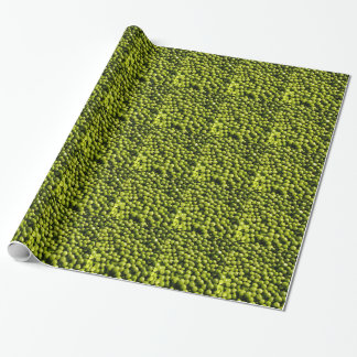 peas wrapping paper