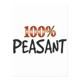 Peasant 100 Percent Post Cards