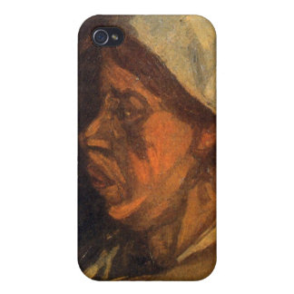 Peasant by Vincent van Gogh iPhone 4 Cases