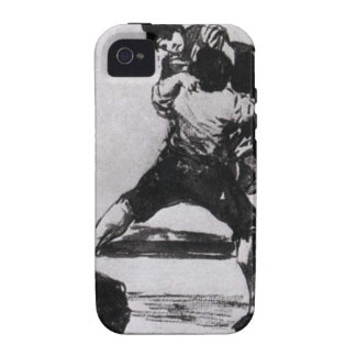 Peasant Carrying a Woman by Francisco Goya iPhone 4/4S Covers
