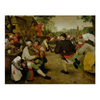 Peasant Dance,  1568 Postcard