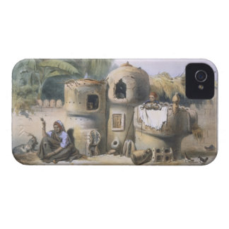Peasant Dwellings in Upper Egypt, illustration fro Case-Mate iPhone 4 Cases