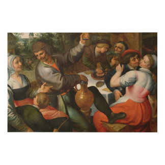 Peasant Feast, 1566 Wood Canvases