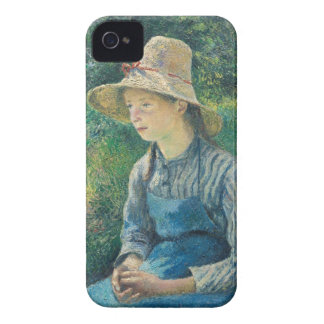 Peasant Girl with a Straw Hat, 1881 Case-Mate iPhone 4 Case