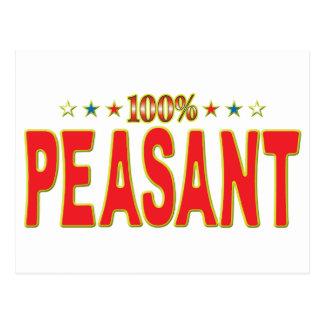 Peasant Star Tag Postcards