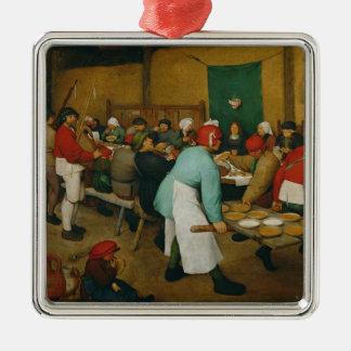 Peasant Wedding , 1568 Christmas Ornament