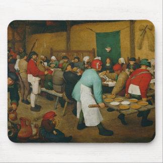 Peasant Wedding , 1568 Mouse Mat