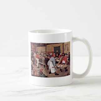 Peasant Wedding By Bruegel D. Ä. Pieter Coffee Mug