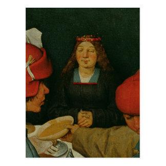 Peasant Wedding Postcard
