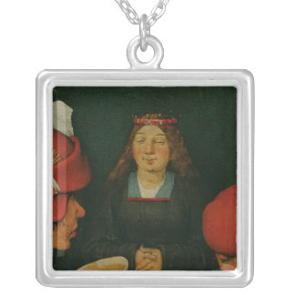 Peasant Wedding Silver Plated Necklace