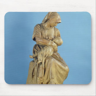 Peasant Woman Feeding her Child Mouse Mat