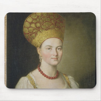 Peasant Woman in Russian Costume, 1784 Mouse Mat