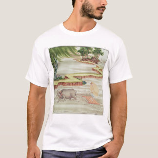 Peasant working in the paddy fields T-Shirt