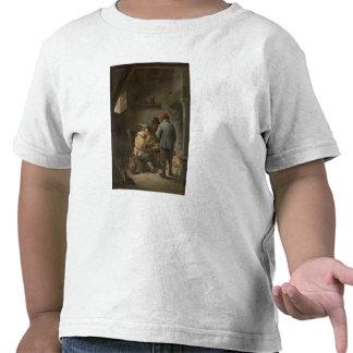 Peasants by an Inn Fire Tshirt