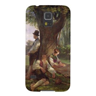 Peasants having a Siesta, 1841 Galaxy S5 Cases