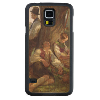 Peasants having a Siesta, 1841 Maple Galaxy S5 Slim Case