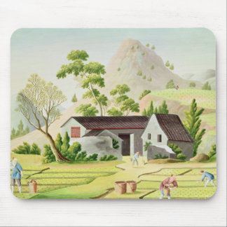 Peasants in the Paddy Fields Mouse Mat
