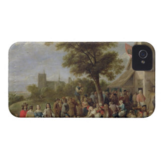 Peasants Merry-Making, c.1650 (oil on canvas) iPhone 4 Case-Mate Case