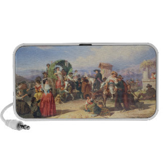 Peasants of the Campagna, 1860 (oil on canvas) Mp3 Speakers