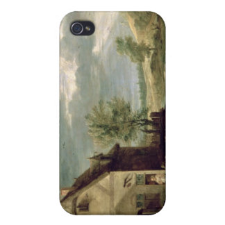 Peasants Playing Boules iPhone 4 Cases